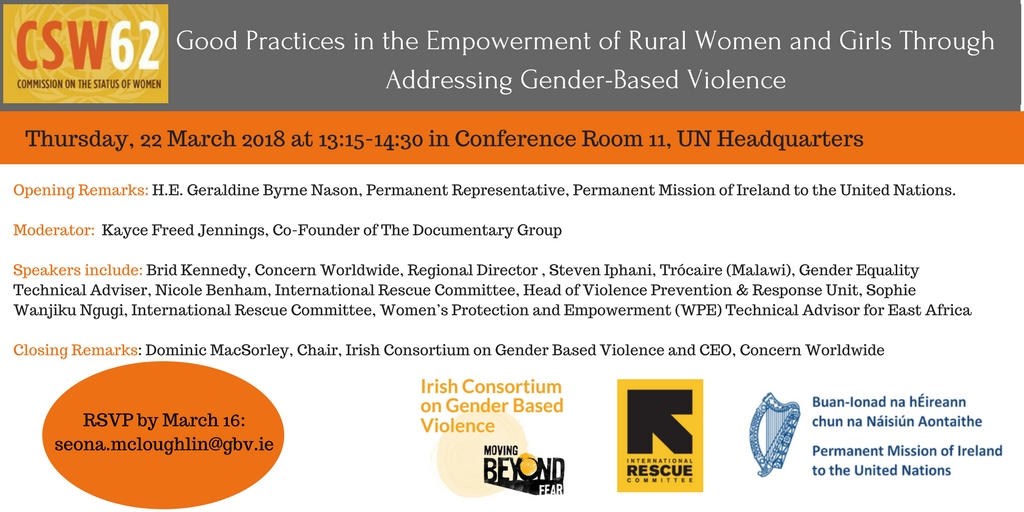 CSW62 SIDE EVENT